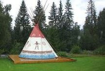 Tipi painting / by Colorado Yurt Company