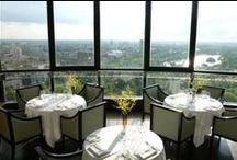 LDN: Restaurants with views / London restaurants with great food and stunning views!