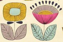 Patterns / Lovely patterns to mix + match.