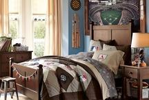 baseball bedroom / by Marla Lambert