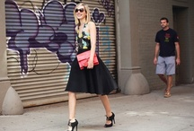 NYFW Editors Style / Check out what the Fashion Editors are wearing for NYFW (Spring 2013)