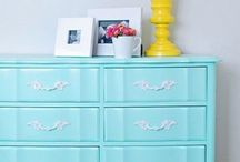Furniture Redo / DIY furniture restoration projects as well as makeover inspiration