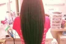 Double Weft Clip in hair Extensions