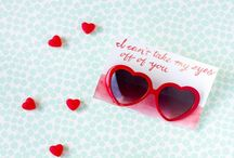 Valentine's Day / Punny gift ideas. Appropriate for kids, teachers, friends. Bonus if they're easy to make! Decor and party ideas.