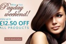 Cliphair Monthly Deals & Offers / Cliphair offers some amazing deals and discounts for its customers. Look more beautiful in less price!