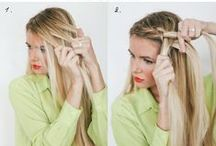 Hair Tutorials / Easy to do and fun Hairstyles. Give yourself a new look everyday.