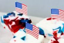 Patriotic Holidays (Yay USA!) / 4th of July, Memorial Day, and Labor Day, Olympics, or World Cup party ideas