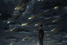 Inspiration: Stellar / stel·lar ('stelər) adjective 1. of or relating to a star or stars.