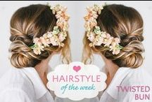 Hairstyle of the week / Check out our weekly hairstyle favourites to get great inspiration for your everyday look.