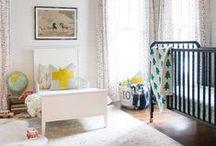 Little Boy's Bedroom Decor / Decor + DIY + organization ideas for a baby or young boy's room