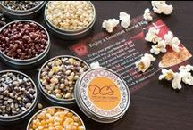 OUR SPICE SHOP / Organic popcorn kernels, gourmet popcorn seasonings, spicy BBQ rubs, and cocktail garnishes to make your signature drink perfect are some of the delicious things we make.   You can find us online at http://www.dellcovespices.com   Our retail shop is at: 4302 N. Pulaski Road Chicago, IL  60641 / by Dell Cove Spice Co.