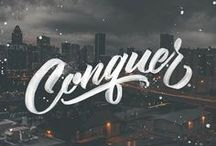Typography & Lettering / A beautiful typeface is like a beautiful woman, you're drawn to it and often cannot say why.