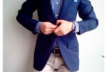 Mens Style / Smart casual men's fashion, the true gentleman's look. / by Edward Currer