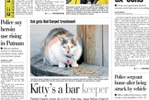 Front pages / The Charleston Daily Mail front page is the first thing people see. The staff strives to ensure the front page is visually appealing and full of the day's most important stories.  / by Charleston Gazette-Mail