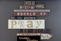 Old Wood, Barn Wood, Pallet Wood etc. / Old or new wood made into great stuff