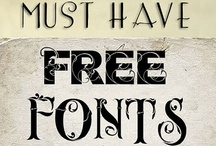 Fonts / Cool Fonts & Typography