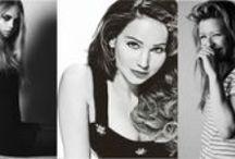 C A R A / J E N N I F E R / E L L I E / Cara Delevingne, Jennifer Lawrence, and Ellie Goulding / by M A D I S O N / S C O U T