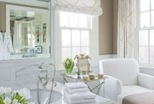Bathroom Ideas / Products, palettes and perceptions of the ideal bathroom.  / by Tara Blais Davison