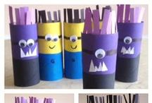 Toilet Paper Roll Crafts / by Sharon Wood
