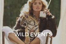Wild Events / Private parties, photo-shoots, weddings, movie sets, birthdays.. And so much more!