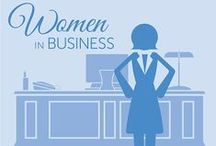 Women in Business / Explore the topics that effect women in business. Blog posts include success stories and obstacles facing women in today's workplace.