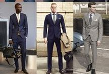 Business Style for Him / Knowing what to wear for a job interview is half the battle. Dress for success with these ideas.