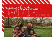 Season's Hottest Holiday Photo Cards / This board contains a collection of Christmas Holiday cards from other designers as well as myself.