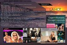 Images inside LA HOT Magazine