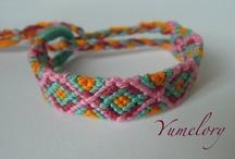 Craft: Bijouterie + Lazos / Macramé - Tejida - Kumihimo - Paracord - Knots - Loops - Braids