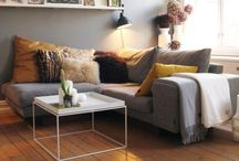 St Ives - Slouchie Lounge / Inspiration for In grey and yellow at new house