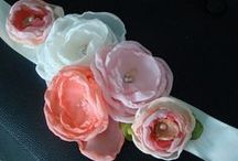 Craft: Flores / De Tela - Tull - Gasa - Cintas - Tejidas - Papel - Tassel