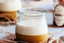 FOOD | in a jar / Food in mason jars:  salads, desserts, soups, layered mixes, party food, individual servings.