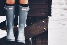FASHION | hunter boots / Hunter boots in every height and colour and outfit ideas with Hunter boots