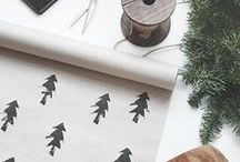 CHRISTMAS | wrap / Ideas for wrapping Christmas gifts, packaging handmade Christmas gifts, Christmas tags.