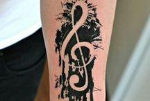 Tattoo Muzyka