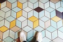 Tile Trends / Tile makes a huge statement! Here are some looks we love.