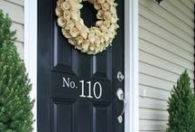HOME | outside / Ideas for curb appeal, doors and windows, outdoor decor and landscaping.