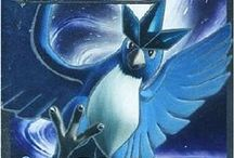 Articuno / Articuno (Japanese: フリーザー Freezer) is a dual-type Ice/Flying Legendary Pokémon. Articuno is not known to evolve into or from any other Pokémon. Along with Zapdos and Moltres, Articuno is one of the three Legendary birds of Kanto.