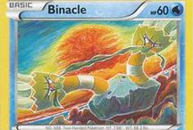 Binacle / Binacle (Japanese: カメテテ Kametete) is a dual-type Rock/Water Pokémon. Binacle evolves into Barbaracle starting at level 39.