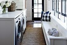 HOME | laundry / Someday my laundry room will be beautiful, tidy, organized and bright!