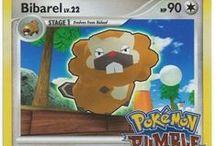 Bibarel / Bibarel (Japanese: ビーダル Beadaru) is a dual-type Normal/Water Pokémon. Bibarel evolves from Bidoof starting at level 15.