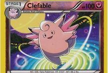 Clefable / Clefable (Japanese: ピクシー Pixy) is a Fairy-type Pokemon, and prior to Generation VI, a Normal-type Pokémon. Clefable evolves from Clefairy when exposed to a Moon Stone. It is the final form of Cleffa.