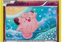 Clefairy / Clefairy (Japanese: ピッピ Pippi) is a Fairy-type Pokemon, and prior to Generation VI, a Normal-type Pokemon. Clefairy evolves from Cleffa when leveled up with high friendship and evolves into Clefable when exposed to a Moon Stone.