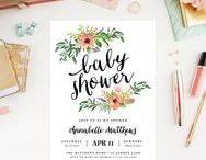 [invitation inspiration] baby shower.