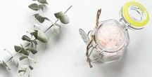 DIY BATH & BEAUTY / Spa and bath ideas to make and create for a healthier and stress-free me, plus beautiful thoughtful gifts to make.