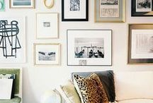 GALLERY WALL / Ideas for creating gallery walls