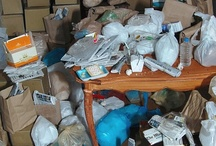 Organize It! HOARDING & CHRONIC DISORGANIZATION / Hoarding affects an estimate 2% of the US population. These people are not lazy; they have genuine medical, emotional and relationship issues that bring them to this place. / by Andi Willis, Professional Organizer