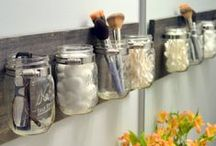 Organizing Ideas / These pins will help you get organized and declutter your home. These are great organizing ideas for the home, for bedrooms, for the kitchen, for kids, and for the whole house. You'll also find ways to organize on the cheap with DIY ideas too.