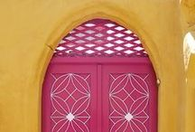 Travel: Doors of the World / I am forever fasciated by the colourful doors and entranceways of the world. I always wonder what's behind them...