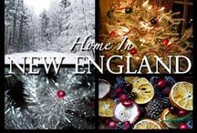 Home in New England ~ / by Tammie ~Mulberry Spice~
